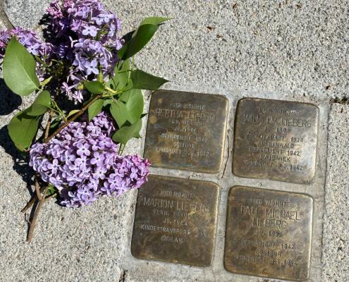 Stolperstein - zum Gedenken 8. Mai