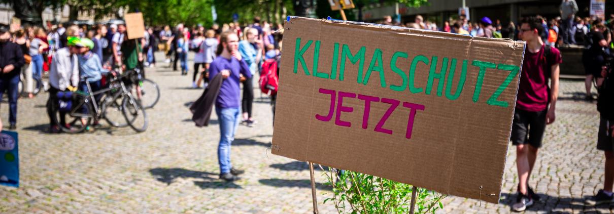 Klimaschutz jetzt!