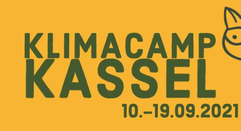 Klimacamp-Logo 10. bis 19. September 2021